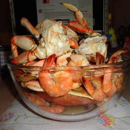 Boiled Snow Crab