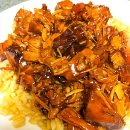 Crockpot Bourbon Crack Chicken