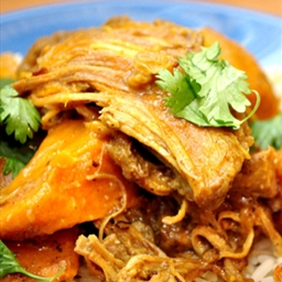 Braised Chicken Curry with Yams