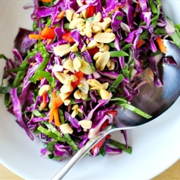 Bright and Gingery Chinese Slaw