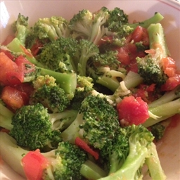 Broccoli and Tomatoes with Herbs