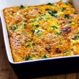 Aunt Linda's Broccoli Cheese Casserole