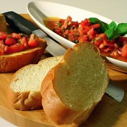 Bruschetta w/ Tomato & Basil