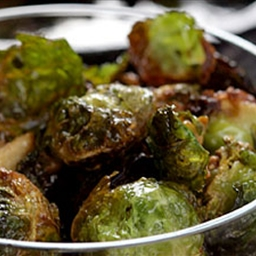 Brussels Sprouts with Quinoa