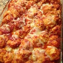 Bubble Up Pizza Casserole