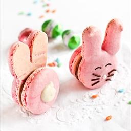 Bunny rasberyy cupcakes