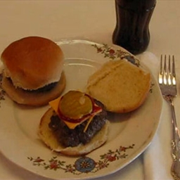 Burger Littles Sandwich