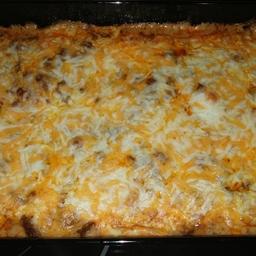 Burrito casserole low carb