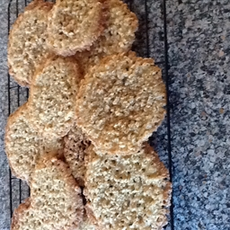 Butter Oatmeal Lace Cookies