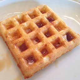 Buttermilk Waffles with Cheddar