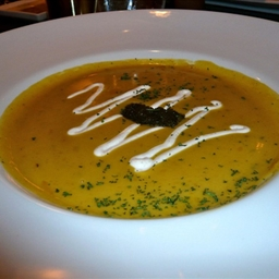 Butternut Squash and Green Apple Bisque