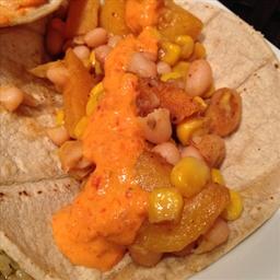 Butternut squash & corn tacos (vegan & gluten-free)