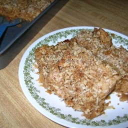 Butterscotch Apple Squares