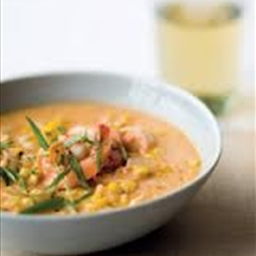 Cajun Shrimp-And-Corn Bisque