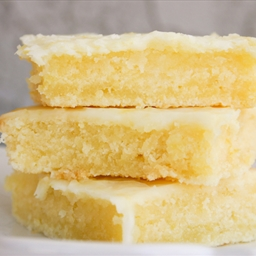 Bakergirl Cakey Lemon Bar Brownies.