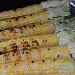 Cambodian Grilled Corn