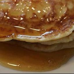 Canadian Buttermilk Pancakes with Maple Syrup