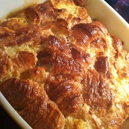 Caramel Croissant Pudding - Nigella Express