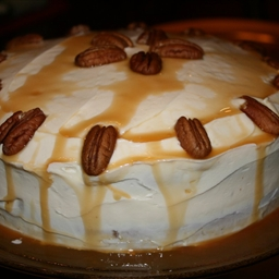 Caramel Pumpkin Spice Cake