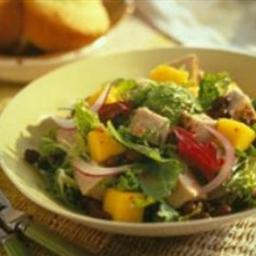 Caribbean Pork and Mango Salad