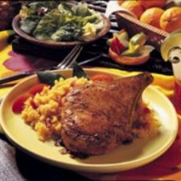 Carribean-style Pork Rib Chops (Costillitas de Cerdo)