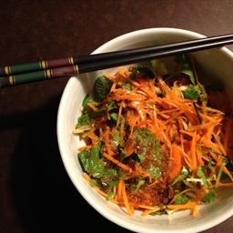 Carrot and Kaffir Aline Salade