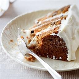 Carrot Cake White-chocolate Icing