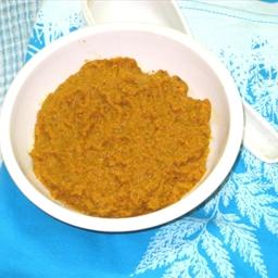 Carrot coriander chutney