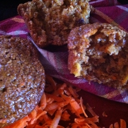 Carrot Pineapple Bran Muffins
