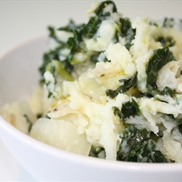 Cauliflower Colcannon