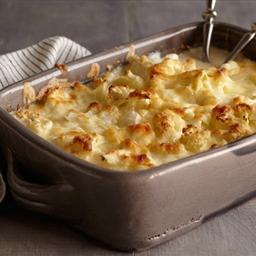 Cauliflower-Goat Cheese Gratin