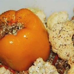 Cauliflower Stuffed Pepper