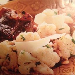 Cauliflower with Walnuts and Parmesan