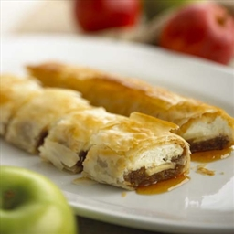 Chavrie Goat Cheese Apple Strudel