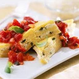 Cheese and Basil Polenta