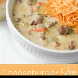 Cheeseburger Soup