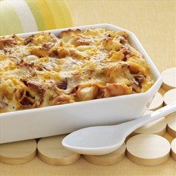 Cheesy Bacon & Egg Brunch Casserole