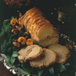 Chestnut-Stuffed Pork Roast