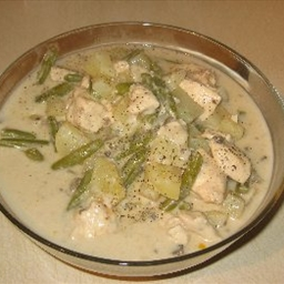 Chicken and Green Bean Dinner