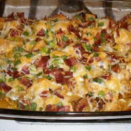 Chicken and Loaded Potato Casserole