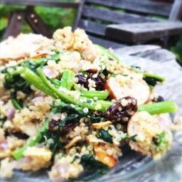 Chicken-Apple Sausage Quinoa
