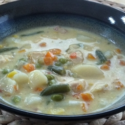 Chicken & Cheese Soup