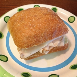 Chicken Ciabatta Sandwich with Lime Mayonnaise