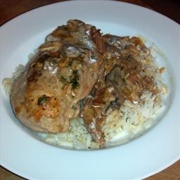 Chicken Coq au Chardonnay