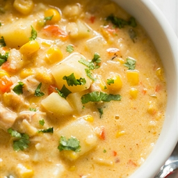 Chicken Corn and Potato Chowder