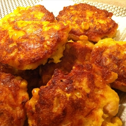 Chicken & Corn Fritters