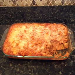 Chicken Lasagna Bake