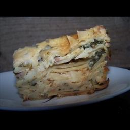 Chicken lasagna Florentine Slow Cooker Recipe