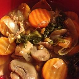 Chicken Lentil Kale Soup