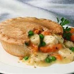 Chicken Or Turkey Pie